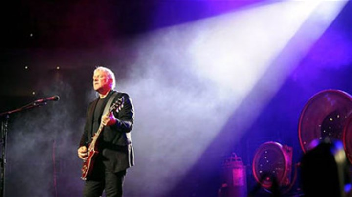 Alex Lifeson of Rush Rush's unsung guitar hero Alex Lifeson performs at Consol Energy Center Tuesday night.