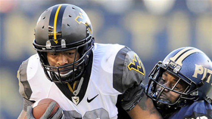 alston West Virginia's Shawne Alston is one of three running backs who should play a key role for the Mountaineers this season.
