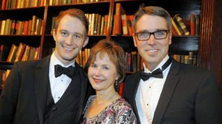 Andrew Fouts, Patricia Halverson and Scott Pauley Chatham Baroque members Andrew Fouts, Patricia Halverson and Scott Pauley.