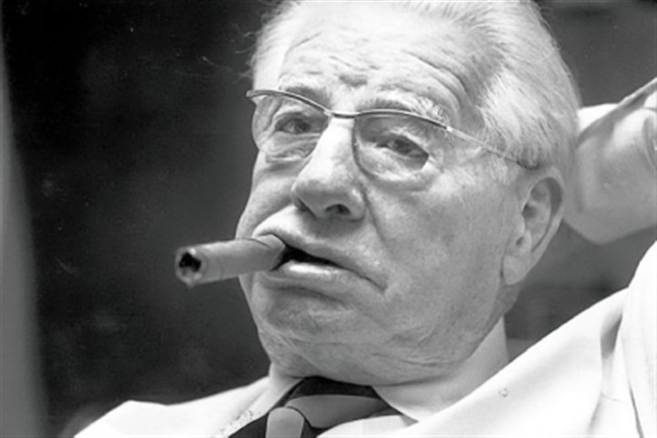 ART ROONEY SR. ART ROONEY SR.: The FBI file on Art Rooney Sr. (above in 1982) involved an extortion attempt against him in 1952. The file contains numerous redactions, but it revealed that the extortionist turned out to be a juvenile. News reports at the time identified the individual as a 15-year-old girl.