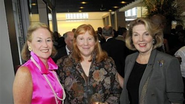 August Wilson Center opening Ann McGuinn, Janet Sarbaugh and Alice Snyder.
