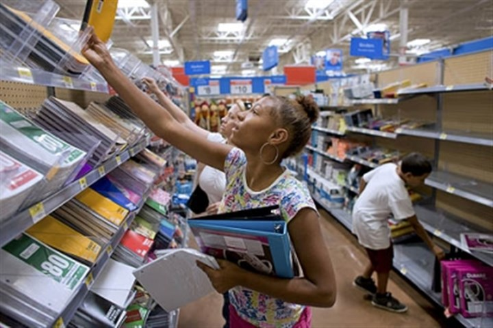 back to school Stores are pumping up back to school deals earlier than ever.