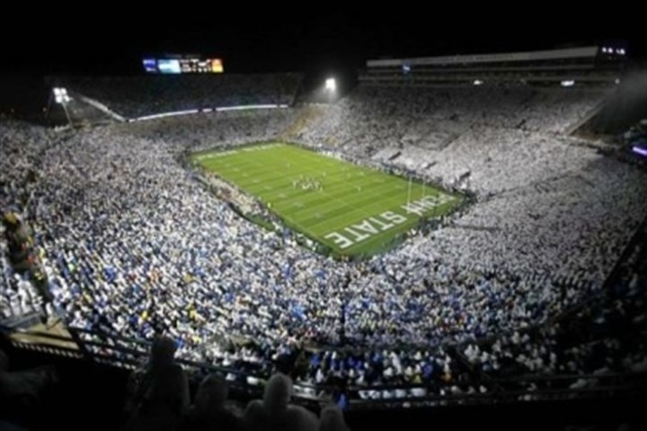 beaver stadium As part of the plan to pay for the $60 million penalty from the NCAA, Penn State has postponed some projects, including acquiring a new scoreboard at Beaver Stadium.