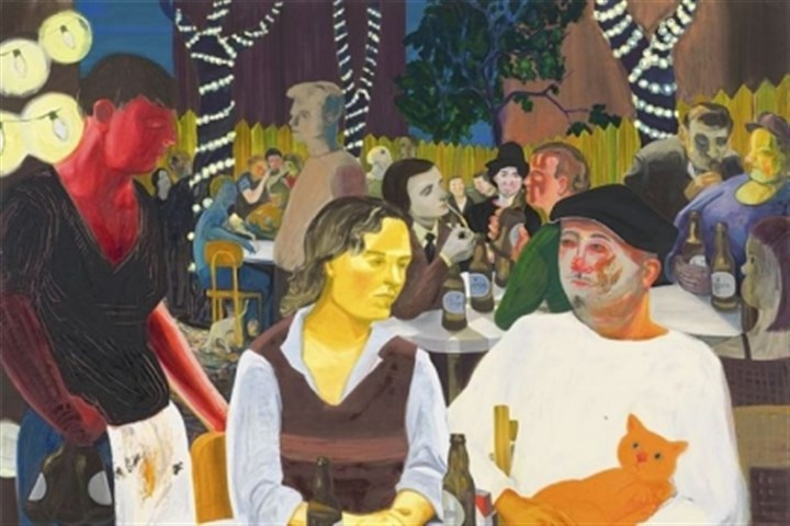 """Beer Garden With Ulrika and Celeste"" ""Beer Garden With Ulrika and Celeste"" by Nicole Eisenman will be in the Carnegie International 2013."