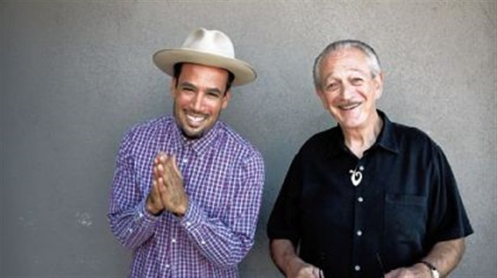 "Ben Harper and Charlie Musselwhite Pedal steel guitarist Ben Harper (left) teams up with blues harmonica great Charlie Musselwhite for ""Get Up!"", to be released on Jan. 29."