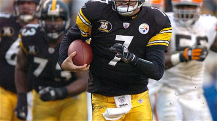 Ben Roethlisberger Ben Roethlisberger has officially run 18 times for 135 yards this season. (vs. Browns 11/11/2007)