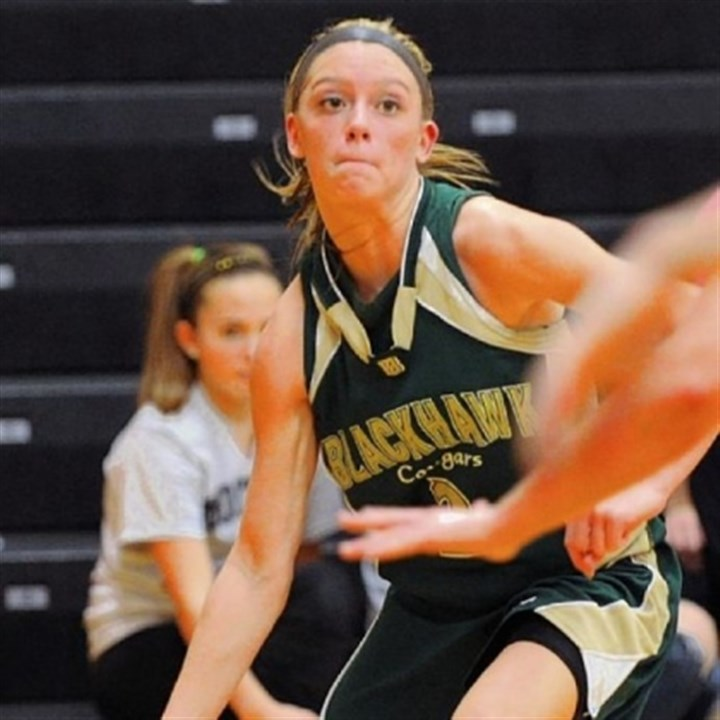Blackhawk Basketball Blackhawk's leading scorer Chassidy Omogrosso committed to Pitt this season as a sophomore.