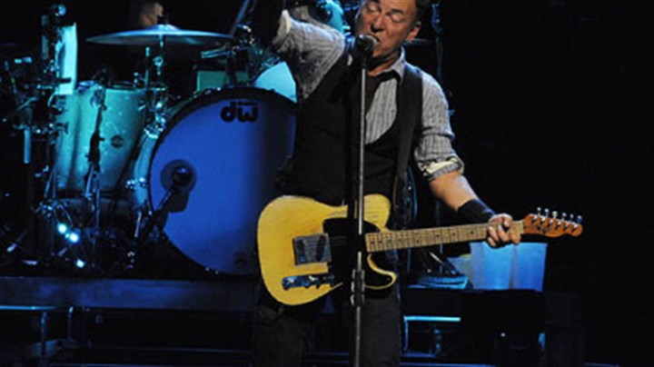 Bruce Springsteen Bruce Springsteen performs at Consol Energy Center with the E Street Band.