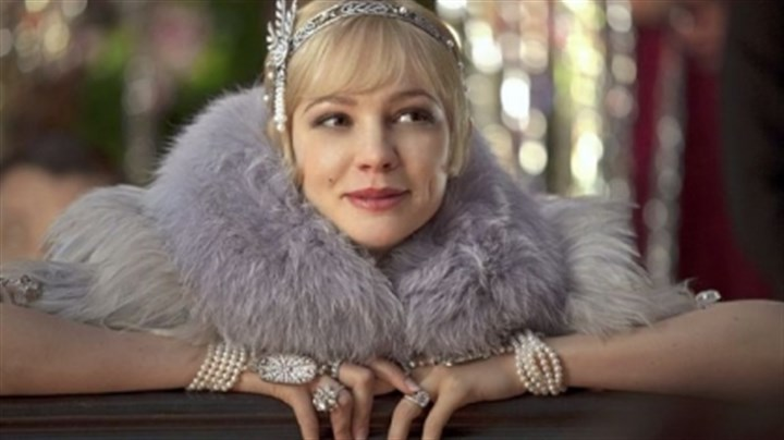"Carey Mulligan Carey Mulligan as Daisy Buchanan in ""The Great Gatsby."""