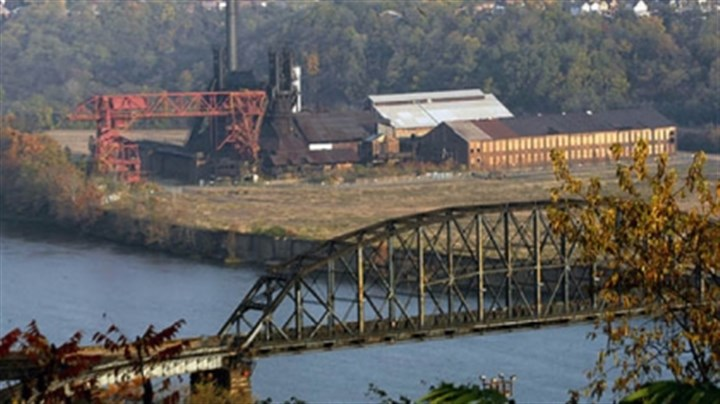 Carrie-3 The Carrie Furnace site in Rankin, shown here in a 2003 photo, is a national historic landmark and part of the Rivers of Steel National Heritage Area.