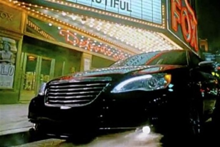 "Chrysler 200 Sixth place was the 2011 Chrysler 200 ad that presented Detroit as still capable of great things. ""It's the hottest fires that make the hardest steel,"" said the spot featuring hip-hop singer Eminem."