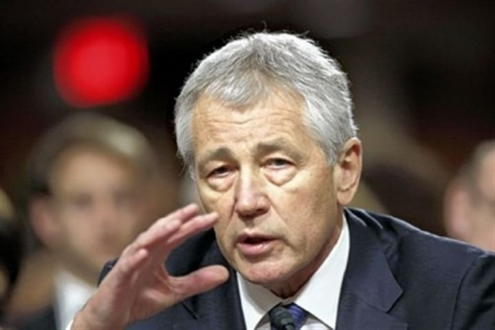 Chuck Hagel Senate Armed Services Committee votes 14-11 in favor of Chuck Hagel to be defense secretary.