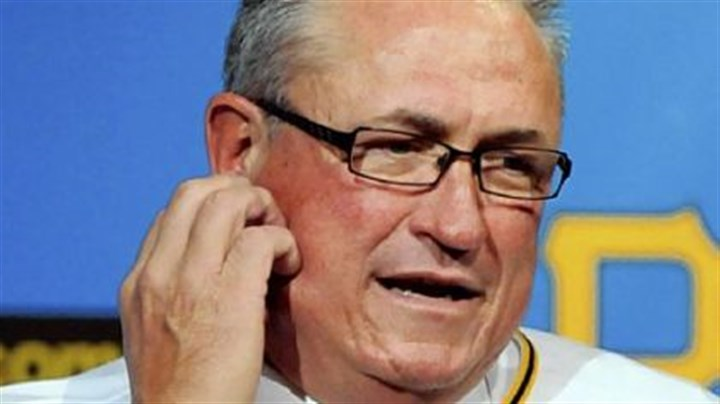Clint Hurdle New Pirates manager Clint Hurdle speaks to reporters after being named the team's 39th manager Monday.