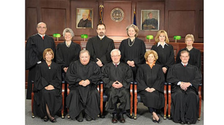 commonwealth court 2012 The 2012 Pennsylvania Commonwealth Court. Judge Robert Simpson is seated on the right, in the front row.