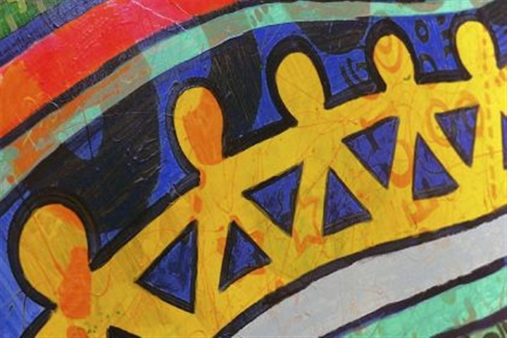created by Auberle students Murals created by Auberle students are on display at the school's main campus in McKeesport.