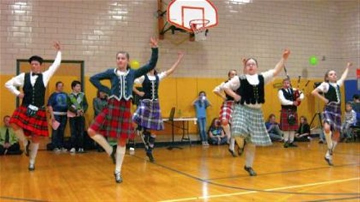Dance 1 Scottish and Irish dance groups have been featured at past International Nights at Jefferson Middle School.