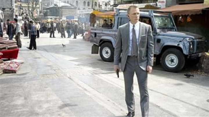 "Daniel Craig Daniel Craig stars as James Bond ""Skyfall."""