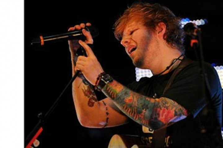 Ed Sheeran at Stage AE Grammy nominee Ed Sheeran makes his Pittsburgh debut at Stage AE on the North Shore.