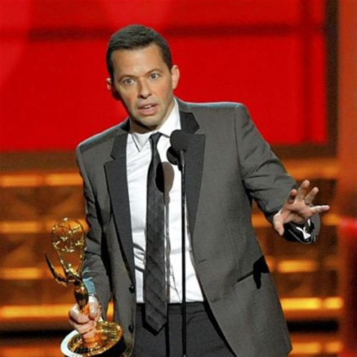 "Emmys: Best actor in a comedy Jon Cryer -- Best actor in a comedy series for ""Two and a Half Men."""