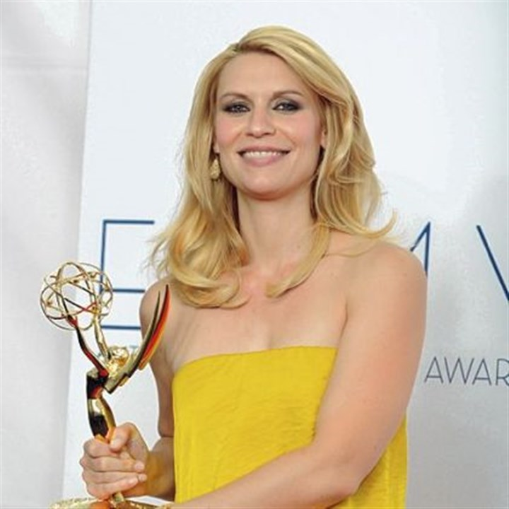 "Emmys: Best actress in a drama Actress Claire Danes won the Emmy for lead actress in a drama for ""Homeland."" The Showtime series also won Emmy for best actor, best writing and best drama."