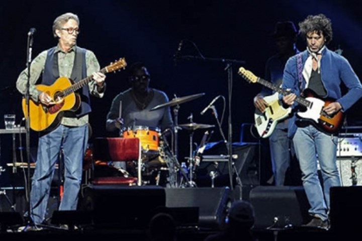 Music review: Eric Clapton shows - 64.9KB
