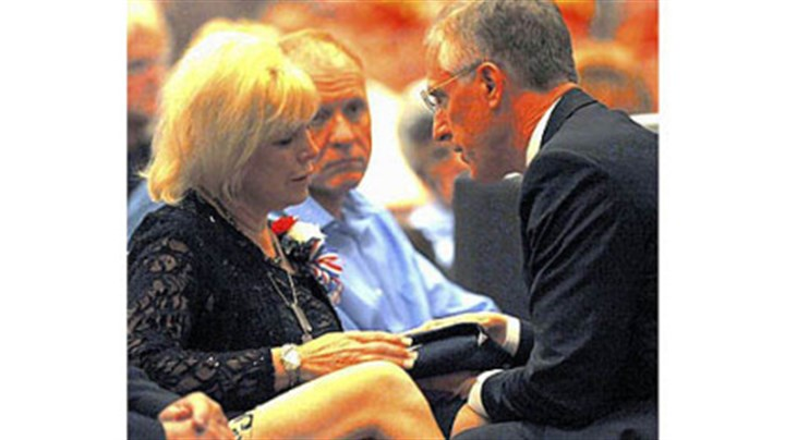 Flag Pam Panchak/Post-Gazette