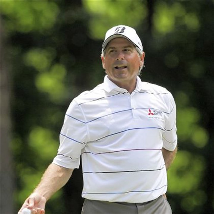 Fred Couples Fred Couples: Let's exchange tips.