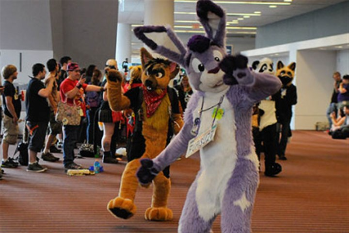 Furries parade 3 More than 1,000 people turned out in fur suits to participate in a parade at the David L. Lawrence Convention Center, Downtown.