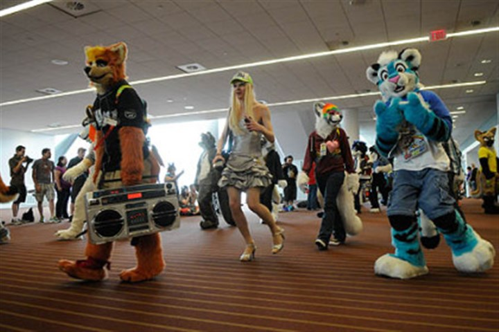 Furries parade 4 More than 1,000 people turned out in fur suits to participate in a parade at the David L. Lawrence Convention Center, Downtown.