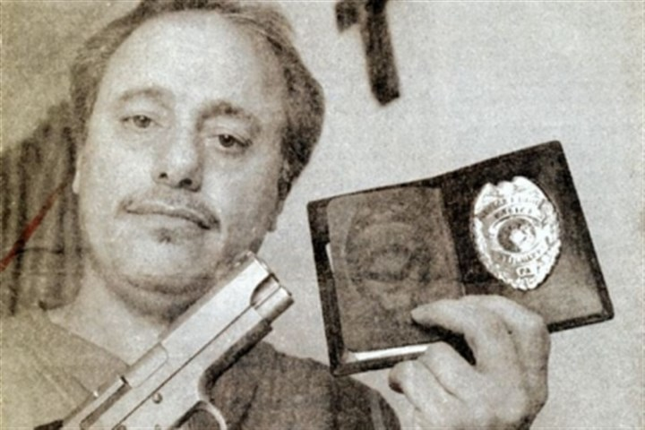 George David Shown here in 1994, George David talked about being fired from the Aliquippa police force. Two years later, he was county sheriff.