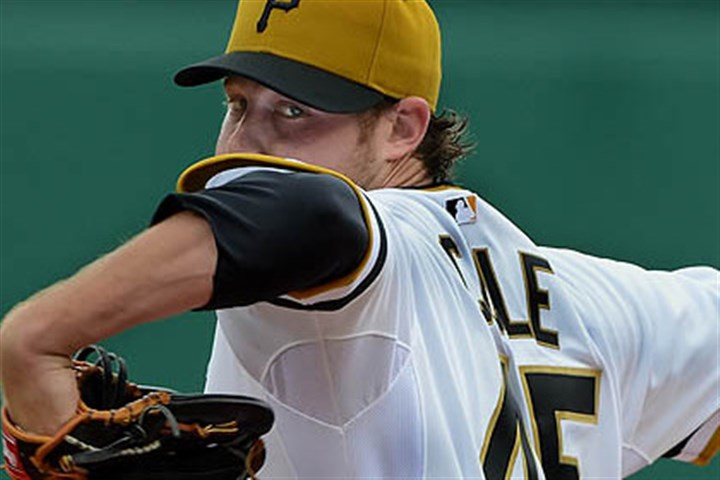 Gerrit cole file Rookie Gerrit Cole won his first two starts with the Pirates.