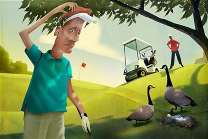 Golf rules! Bottom line of golf's rules: Game is bigger than players.