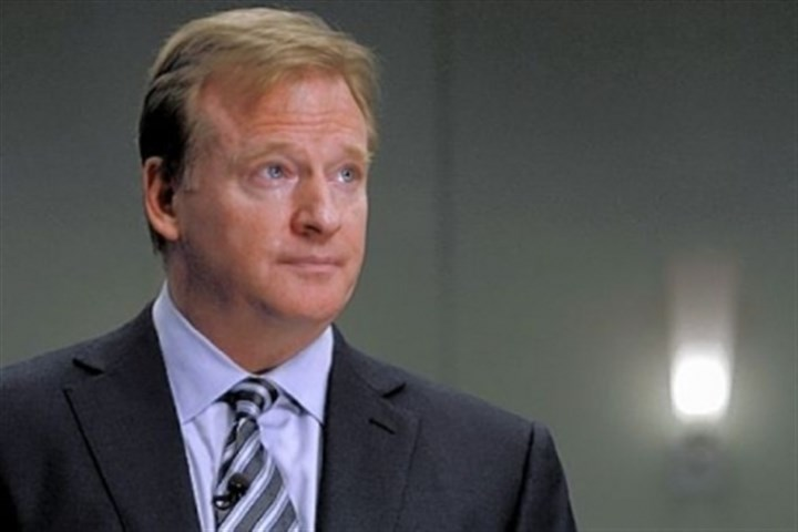 Goodell NFL commissioner Roger Goodell