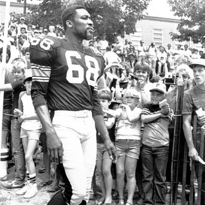 greenwood Former Steelers great L.C. Greenwood in 1982.