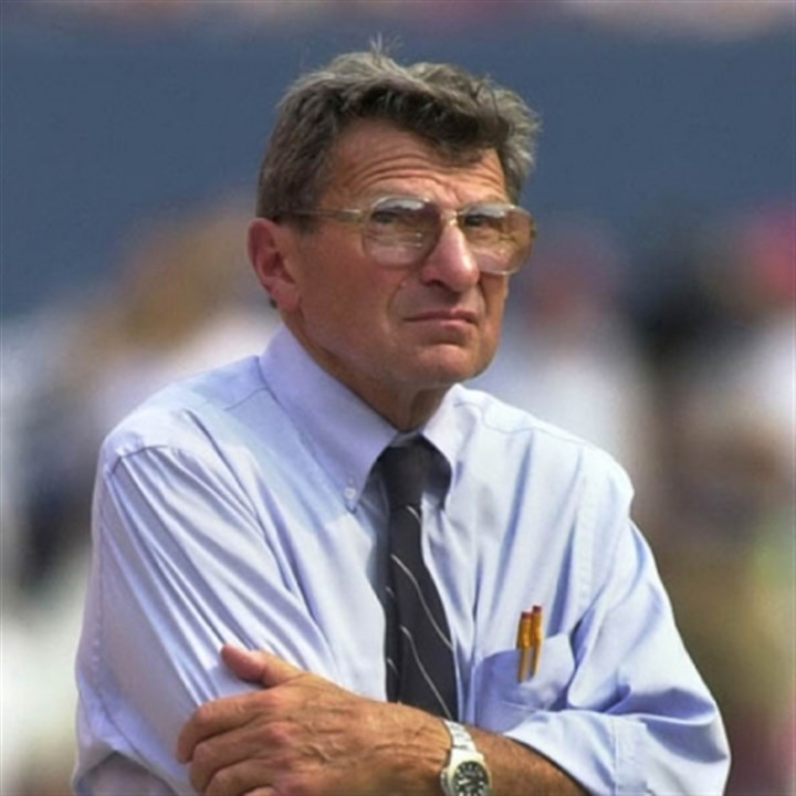 "Joe Paterno Representatives for the family of the late Joe Paterno, pictured at a Penn State football game in 2000, will announce a lawsuit against the NCAA on the NBC show ""Costas Tonight,"" according to NBC Sports."