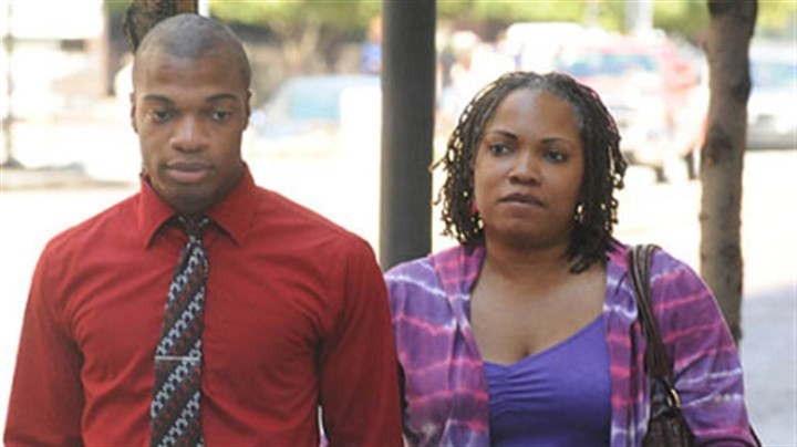 jordan miles after the verdict Jordan Miles and his mother, Terez Miles, arrive at the federal courthouse Downtown today.