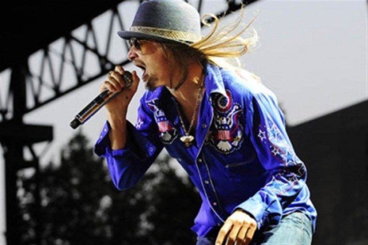 Kid Rock Kid Rock played First Niagara Pavilion in July 2011, when he toured with Sheryl Crow.