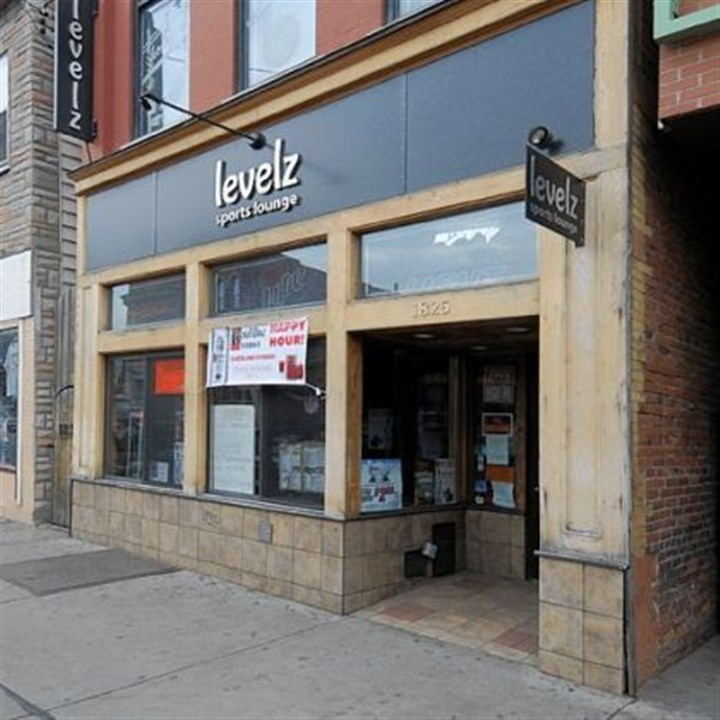 Levelz file Levelz Sports Lounge is in the 1800 block of East Carson Street on the South Side.