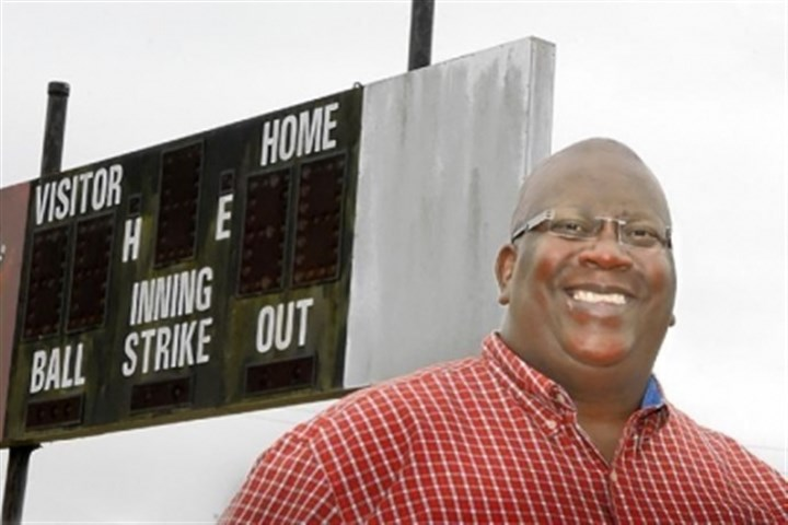 Lorenzo McCutchen Lorenzo McCutchen, father of Pirates center fielder Andrew McCutchen, stands at the Little League field in Fort Meade, Fla., where his son played.