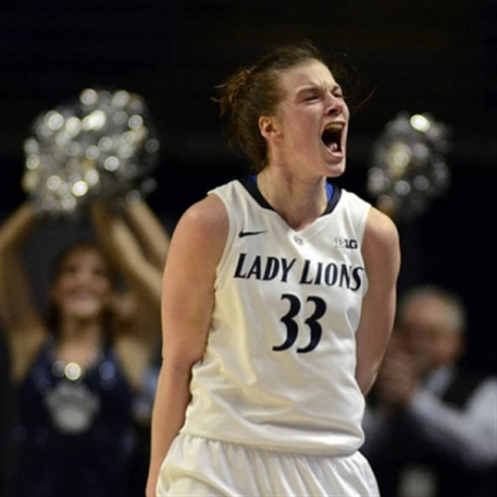 lucas Maggie Lucas and Penn State received a No. 3 seed in the NCAA tournament and will play Cal Poly-San Luis Obispo Sunday.