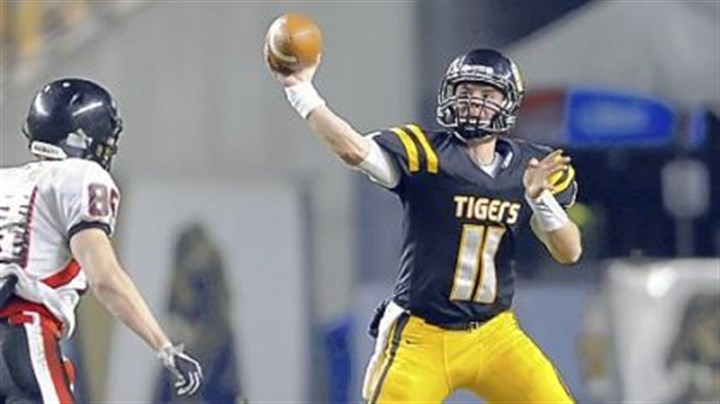 Mack Leftwich North Allegheny quarterback Mack Leftwich, one of the top passers in the WPIAL, has thrown for 2,411 yards with 32 touchdowns this season.