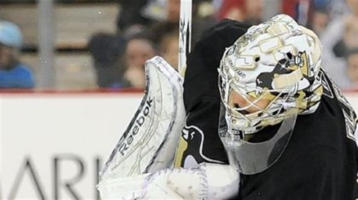 Marc-Andre Fleury Penguins goaltender Marc-Andre Fleury has won seven of his nine career playoff series.