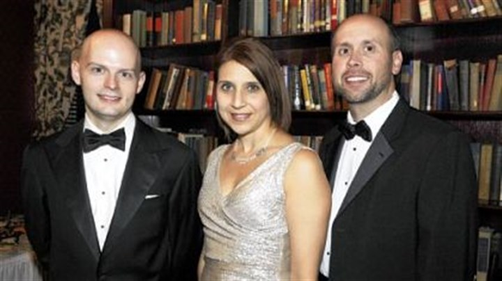 Marc Giosi, Shannon Webber and Brian Harrigan Marc Giosi, executive director, with chairs Shannon Webber and Brian Harrigan.