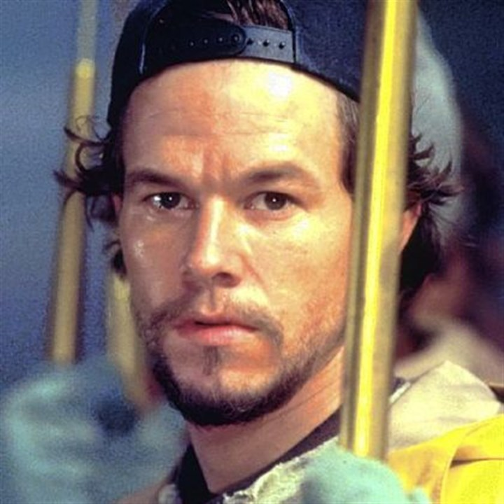 "Mark Wahlberg in the 'The Perfect Storm' Mark Wahlberg in ""The Perfect Storm."""