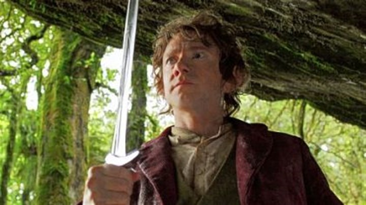 "Martin Freeman Martin Freeman as the Hobbit Bilbo Baggins in the fantasy adventure ""The Hobbit: An Unexpected Journey."""