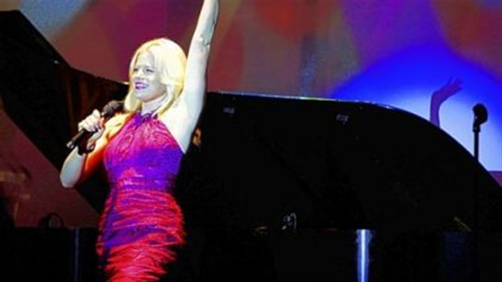 "Megan Hilty Megan Hilty of NBC's ""Smash"" performs at the Pittsburgh Cultural Trust gala."