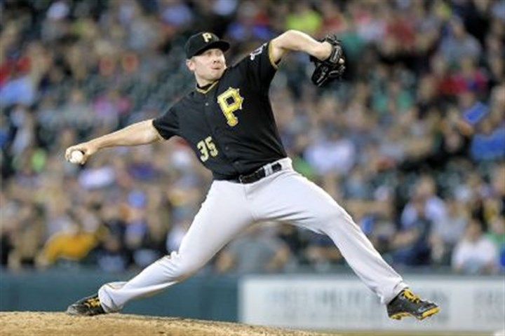 melancon Pirates reliever Mark Melancon has only allowed four runs for an earned run average of 0.81 in 44 1/3 innings pitched.