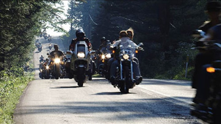 Memorial ride A Flight 93 memorial motorcycle ride from the crash site to Washington, D.C.