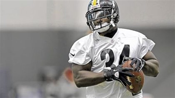 mendenhall steelers south side The Steelers Rashard Mendenhall carries during practice on the South Side Wednesday.