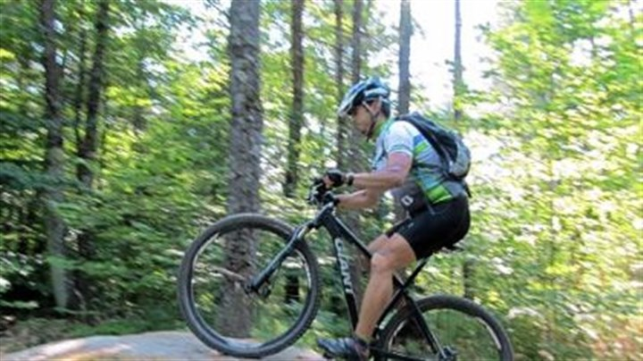 Michael Boyd Michael Boyd: music professor -- and mountain biker.